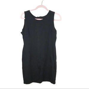 Black cocktail dress size l